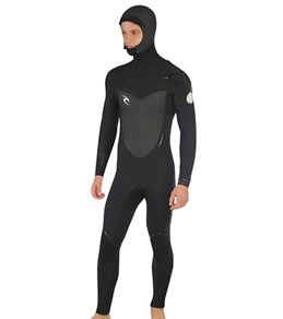 Rip Curl Men's Flash Bomb Hooded 5/4 MM Fullsuit