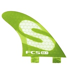 FCS SA-1 PC Tri Surfboard Fin Set - Medium