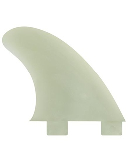 FCS GX Natural Glass Flex Side Fin Set