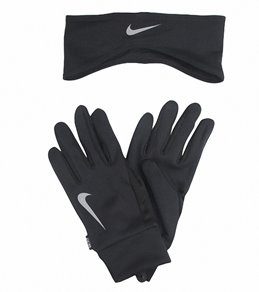 Nike Men's Running Dri-Fit Headband/Glove Set
