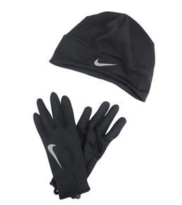 Nike Women's Running Dri-Fit Beanie/Glove Set