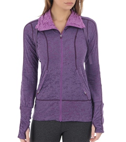 Moving Comfort Women's Flow Burnout Yoga Jacket