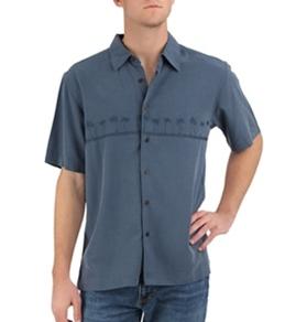 Quiksilver Waterman's Tahiti Palms Button Down S/S Shirt