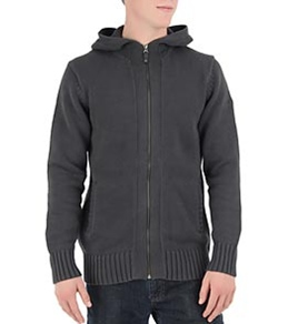 Quiksilver Waterman's Whaler Island Zip Hooded Sweater