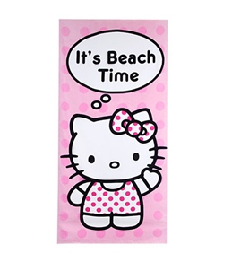JP Imports Hello Kitty Beach Time Towel