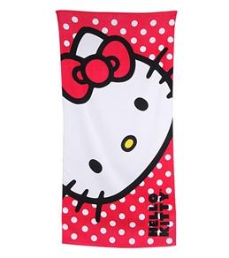JP Imports Happy Hello Kitty Towel