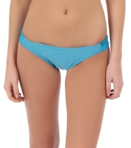 Nike Swim Women's Iconic Heather Scrunched Sides Brief Bottom