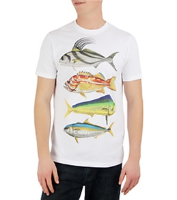 Hurley Men's Limited Edition Stacked S/S Tee