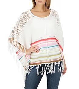 Billabong Women's Worlds Apart Sweater Poncho