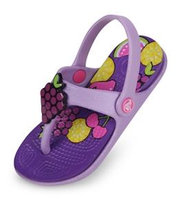 Crocs Kids' Reina Wild Fruit Flip Flops