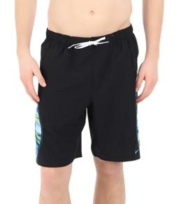 Nike Swim  Men's Laser Stripes Splice Volley Short