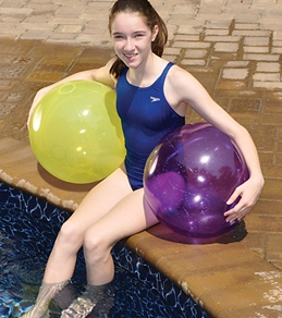 "Swimline Candy Transparent 20"" Beach Ball"