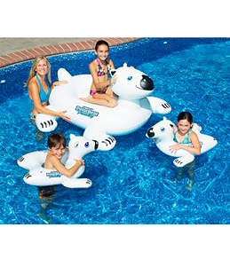 Swimline Polar Bear Family Set