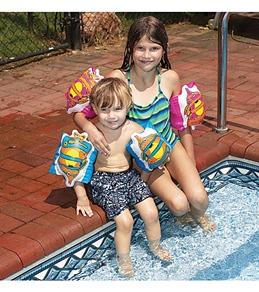 Swimline Aqua-Coach Fish Arm Bands