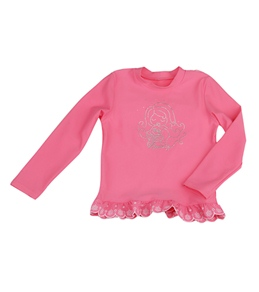 Seafolly Girls' Fairytale L/S Rash Guard (4-7yrs)