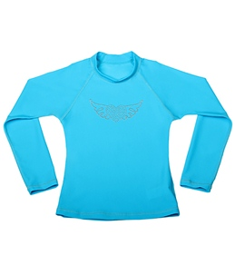 Seafolly Girls' Sassy Sista L/S Rash Guard (6-14yrs)