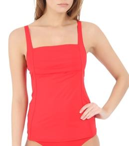 Calvin Klein Women's Pleat Tankini Top