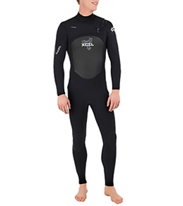 Xcel Men's Drylock 3/2 MM Front Zip Fullsuit