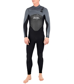 Xcel Men's  SLX Xzip Front Zip 4/3 MM Fullsuit