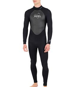 Xcel Men's SLX Back Zip 2/3 MM Fullsuit