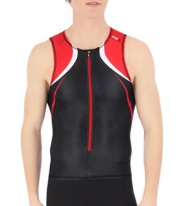 Louis Garneau Men's Tri Elite Course Sleeveless Tri Top