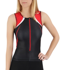 Louis Garneau Women's Elite Course Sleeveless Tri Top