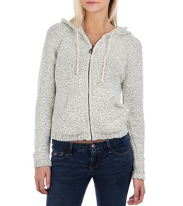 O'Neill Women's Sun Valley Zip Up Sweater With Hood