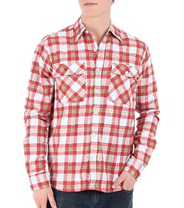 Lost Men's Ports O Call L/S Flannel Shirt