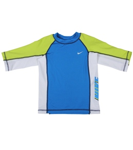 Nike Swim Boys' 3/4 Sleeve Swim Tee