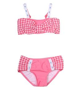 Seafolly Girls' Seaside Mini Tube Bikini Set (6mos-7yrs)