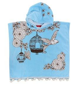 Seafolly Girls' Powder Room Towel Poncho
