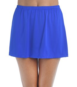 Maxine Solid Skirted Pant Bottom