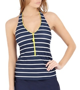 Nautica Spinnaker Stripe Tankini Top