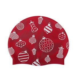 Sporti Festive Ornaments Silicone Swim Cap