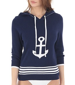 Sperry Top-Sider Women's Anchors Away Hooded Three Quarter Sweater