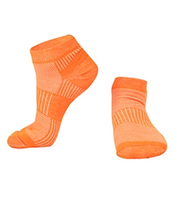Wrightsock Cool Mesh II Lo Neon Running Sock