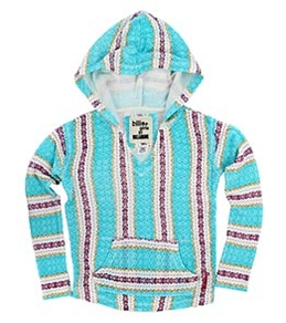 Billabong Billie Girls' Looking Good French Terry Pullover Hoodie (4-16)