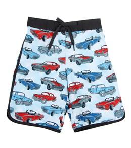 Tiger Joe Boys' Retro Carpark Board Shorts (2-10yrs)