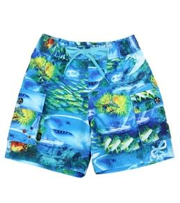 Tiger Joe Boys' Coastal Elastic Board Shorts (6mos-8yrs)