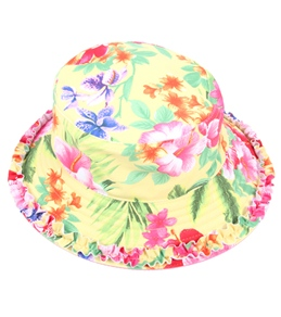 Seafolly Girls' Hula Babe Reversible Swim Hat