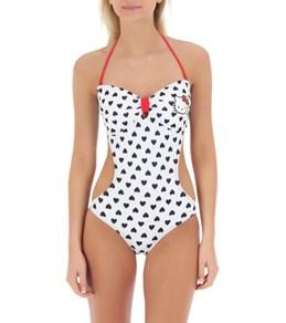 Hello Kitty Junior's Heart Print Monokini