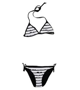 Seafolly Girls' Daisy Lane Triangle Set (6-16yrs)