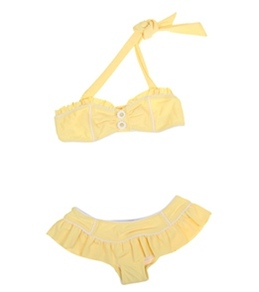 Seafolly Girls' Daisy Lane Mini Tube Bikini Set (6-16yrs)