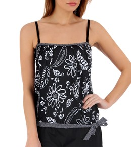 24th & Ocean Paradise Cove Blouson Tankini Top