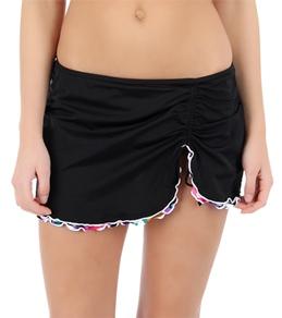 24th & Ocean Chic Streak Layered Skirted Pant Bottom