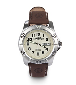 Timex Expedition Traditional Leather Watch