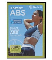 Gaiam Five Day Fit Abs DVD