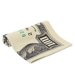 "Kaufman Sales 100 Dollar Bill Towel 30"" x 60"""