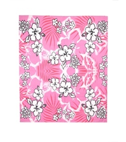 "Kaufman Sales Hibiscus Beach Blanket Towel 60"" x 70"""
