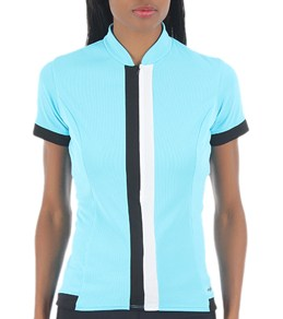 SheBeest Women's S-Cut Solid Cycling Jersey